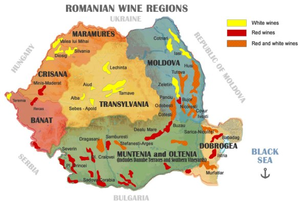 romanian-wine-regions