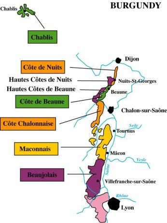burgundy-five-wine-producing-regions-tourism-map